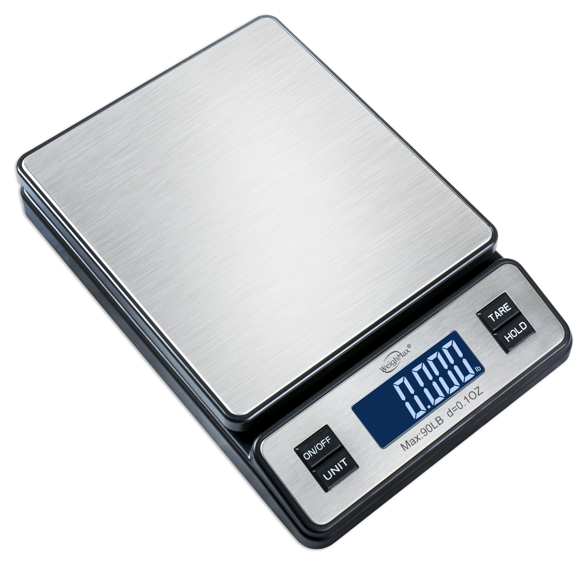 Weighmax W 2809 Stainless Steel Digital Shipping Postal Scale