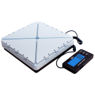 WeighMax W-9800 Expandable Platform Shipping Postal Scale w/ Heavy Duty Metal Platform
